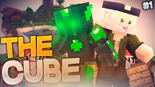 BIENVENIDOS A THE CUBE!! #THECUBE | Episodio 1 | Minecraft Supervivencia | Willyrex Y sTaXx