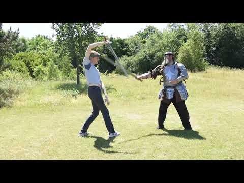 Single Sword Larp Combat Practice