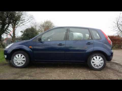 2004 ford fiesta 1 4 ghia for sale. Black Bedroom Furniture Sets. Home Design Ideas