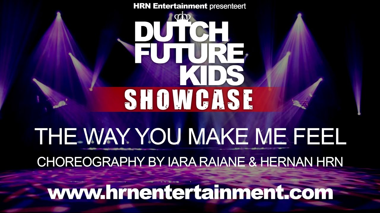Dutch Future Kids Showcase 2017 | The Way You Make Me Feel | Iara & Hernan