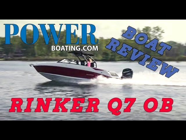 #Rinker Q7 OB- YACHT CERTIFIED (boat review)