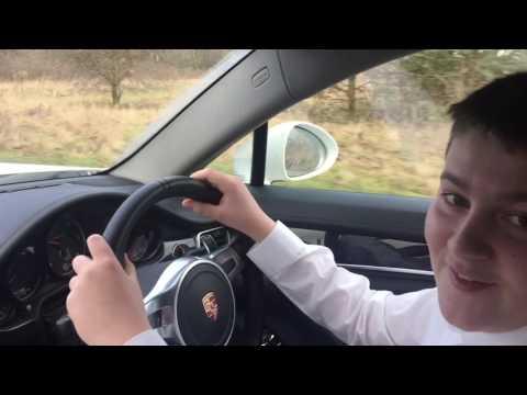 Jimmy Leigh drives Porsche