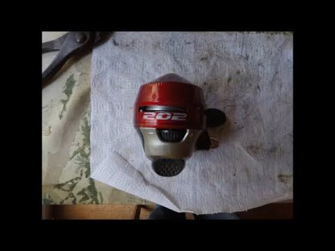 How To Service And Repair A Modern  ZEBCO 202 Fishing Reel