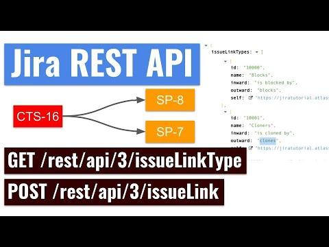 Jira REST API - Create an Issue link