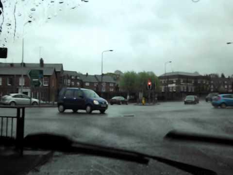 Driving Through Macclesfield Town Centre, Sun 12th May 2013