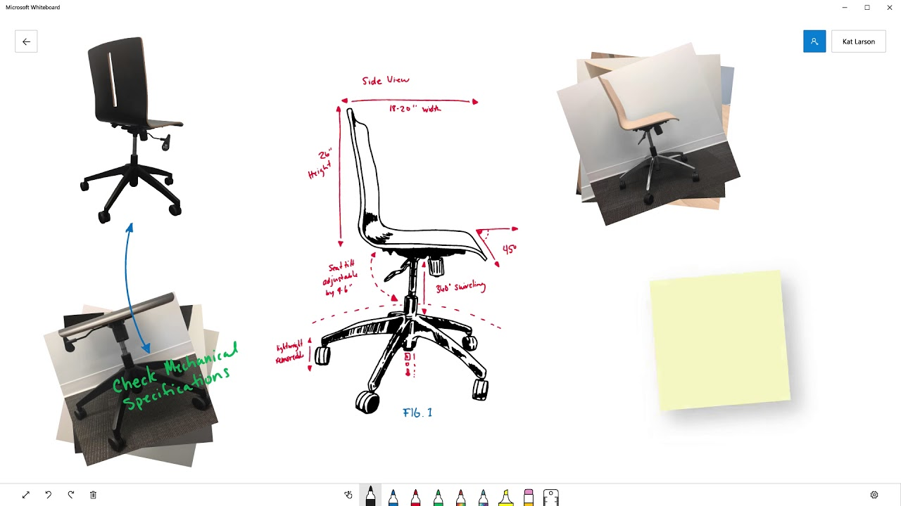 Microsoft Whiteboard is a dead-simple way to brainstorm with