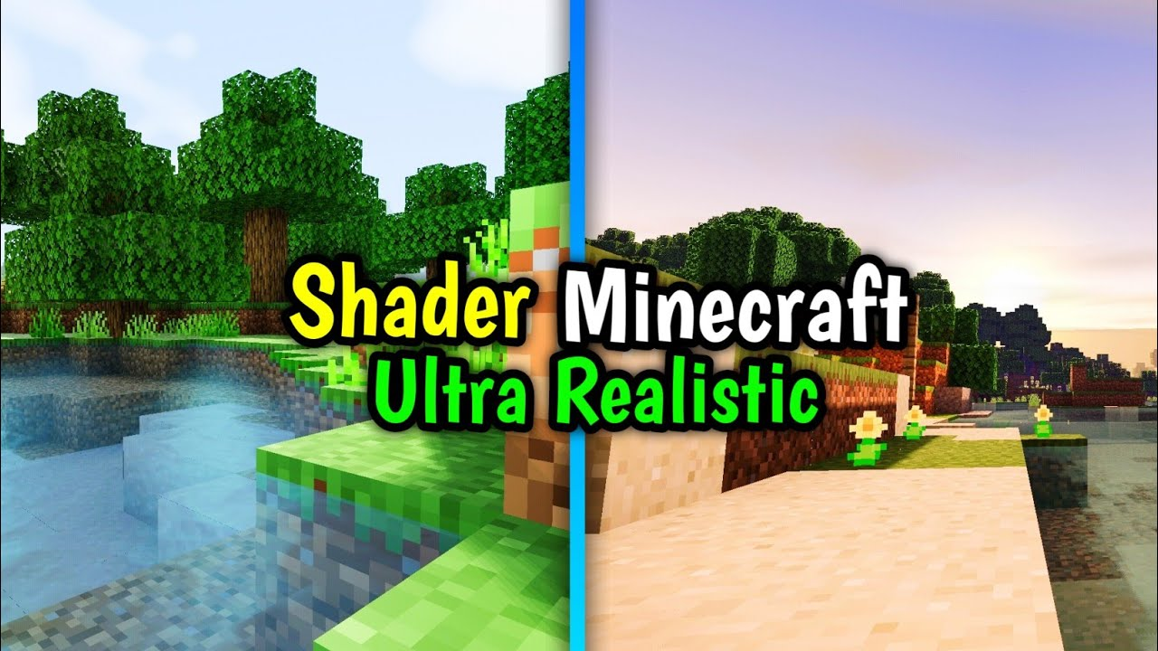 SHADER MINECRAFT ULTRA REALISTIC DI ANDROID - NO LAG
