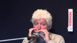 Tims Tiny Tunes #209: Am Blues, Level 1,  jazz harmonica licks I play-along lessons