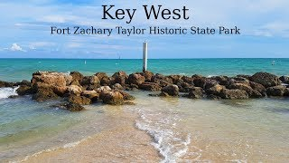 Key West (Florida Keys, US). Fort Zachary Taylor Historic State Park. Overview and history