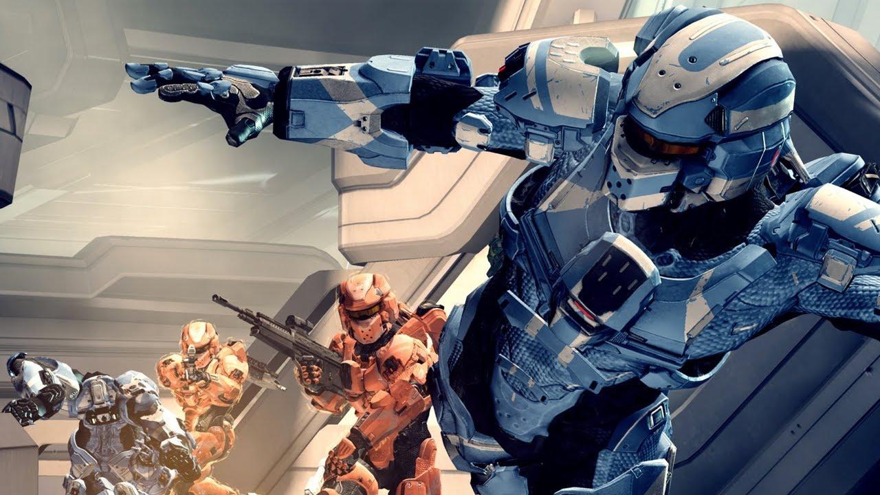 Halo 4 Multiplayer Gameplay With GoldGlove Friends
