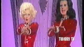 TWIGGY and DANNY LA RUE sing TWO LITTLE GIRLS FROM LITTLE ROCK (1974)
