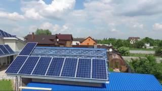 Монтаж солнечных батарей для наращивания мощности зеленого тарифа(, 2016-05-24T16:29:54.000Z)