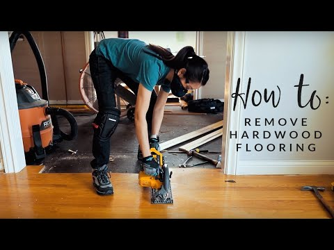 How To Remove Hardwood Flooring the Easy Way!