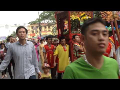 Lê hội truyền thống làng Cuối, thị trán Gia Lộc, huyện Gia Lộc, tỉnh Hải Dương P1