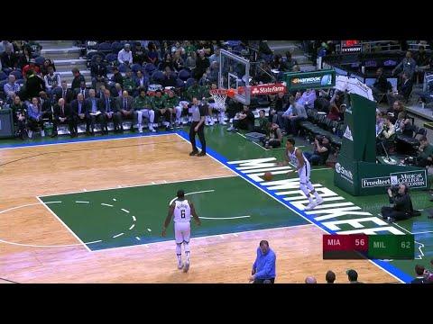 3rd Quarter, One Box Video: Milwaukee Bucks vs. Miami Heat