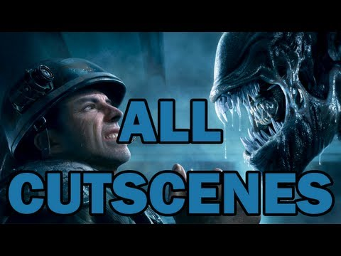 Aliens: Colonial Marines - All Cutscenes