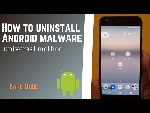 How to manually remove Android malware that prevents user from being uninstalled   Safe Mode FluBot