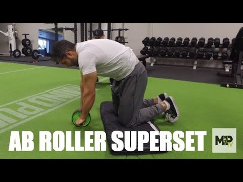 e57452ac33 How to Use an Ab Wheel- 2 Exercises to Shrink Your Waist! (Ab Roller Video  2 of 3)
