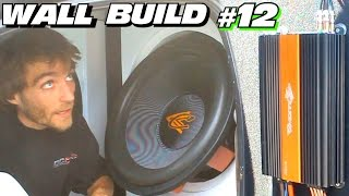 EXO's Subwoofer WALL Build #12 | Installing TheAmpLab Lithium Battery | Wiring Crescendo Amps & Subs