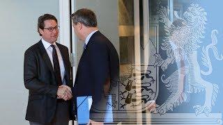 Kabinettssitzung zum Thema Verkehr - Bayern