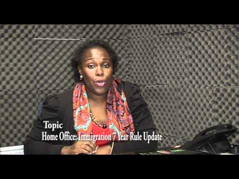 TUNDE ALABI'S VOICE ON UK HOME OFFICE 7 Year Rule update