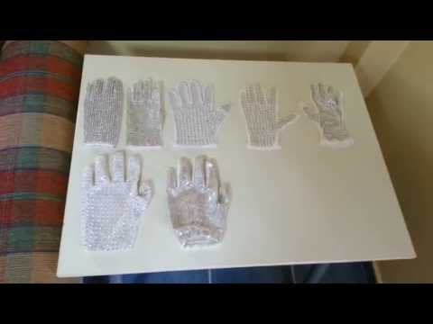 My Michael Jackson Gloves Collection