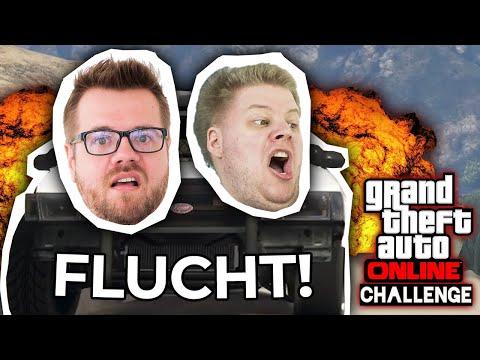 Legendäre VERFOLGUNGSJAGDEN!   GTA Challenge