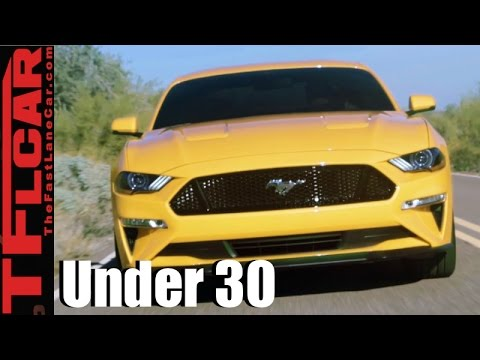 Fast Cars Under 30K >> Top 9 Sporty New Cars Under $30K That Millennials Under 30-Years-Old Want to Own - YouTube