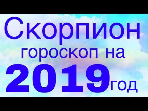 Гороскоп для СКОРПИОНОВ на 2019 год! Краткий курс счастливой жизни:))