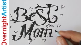 Gift Ideas For Mom - Birthday Gift Ideas Write Best Mom Fancy Letters