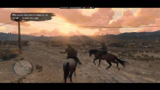 Read Dead Redemption on PC ( PSNOW ) 2016 Gameplay