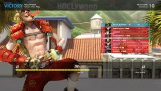 FFA Deathmatch Junkrat Win on Hollywood - Multiple Triple Kills