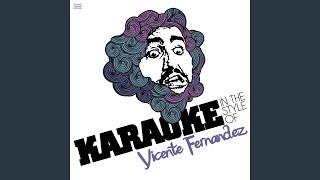 Me Canse De Rogarle (Karaoke Version)