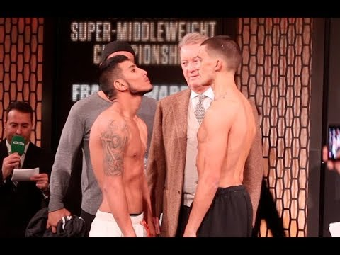 WAR PEANUT!!! - LEE SELBY v EDUARDO RAMIREZ - OFFICIAL WEIGH IN VIDEO / THE BOYS ARE BACK IN TOWN