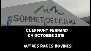 Sommet de l'élevage-Clermont Ferrand 04 octobre 2018