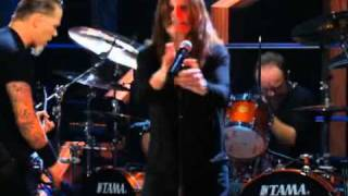 Ozzy Ozbourne ft. Metallica - Iron Man / Paranoid (live)