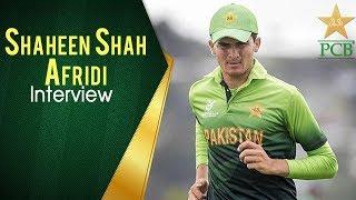Shaheen Shah Afridi Interview at Edinburgh | PCB
