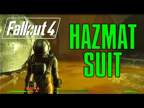 Fallout 4: 1000 Radiation Resistance!! - Hazmat Suit Guide