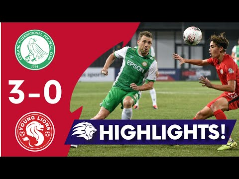 Geylang Young Lions Goals And Highlights
