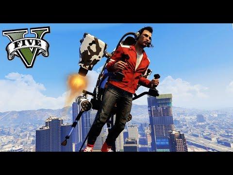 GTA V Online - POR FIN EL NUEVO JETPACK!! - NexxuzHD