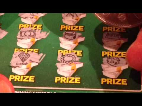 MILLIONAIRE GREEN Scratchcards...Lucky Lines..FAST 500..RUBIK'S..PAC-MAN..PAYDAY..MILLIONAIRE 7's