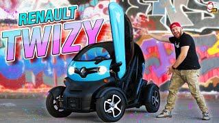 🚙 Elektrický Renault Twizy: Vyzkoušel jsem šílený mini-autíčko! | WRTECH [4K]
