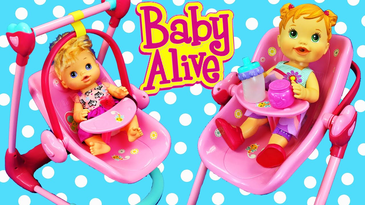 Baby Alive and Thomas train videos | Doll Travel System ...