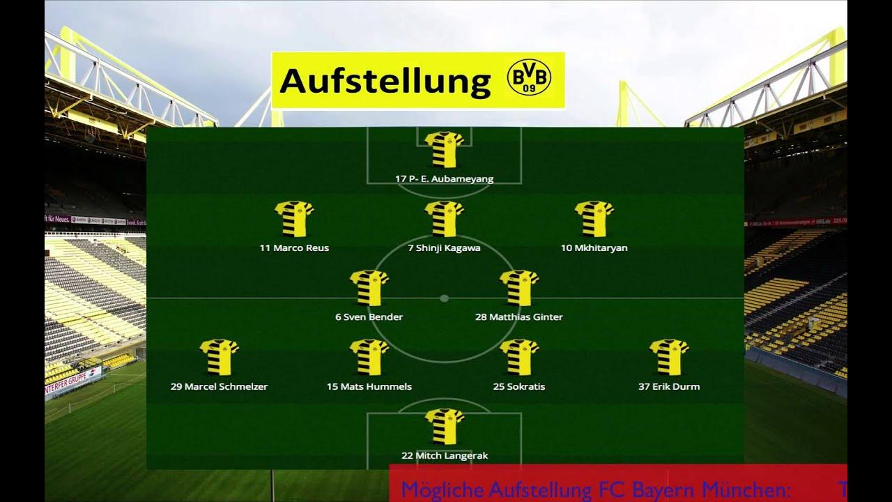 Bayern Bvb Aufstellung