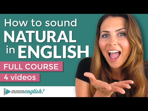 How To Sound Natural in English   Pronunciation Course