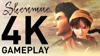 First hour of Shenmue Gameplay in 4K!