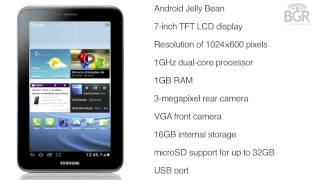 Galaxy Tab 2 311 with Android Jelly Bean, 7-inch screen and a 1GHz dual-core processor launched