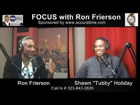 Senior Vice President of Columbia Records/ Sony Music - Shawn Holiday on FOCUS with Ron Frierson