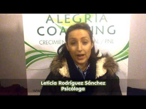 """Introducción a la PNL - Leticia Rodríguez nos cuenta como se ha """"quedado"""" con este curso"""