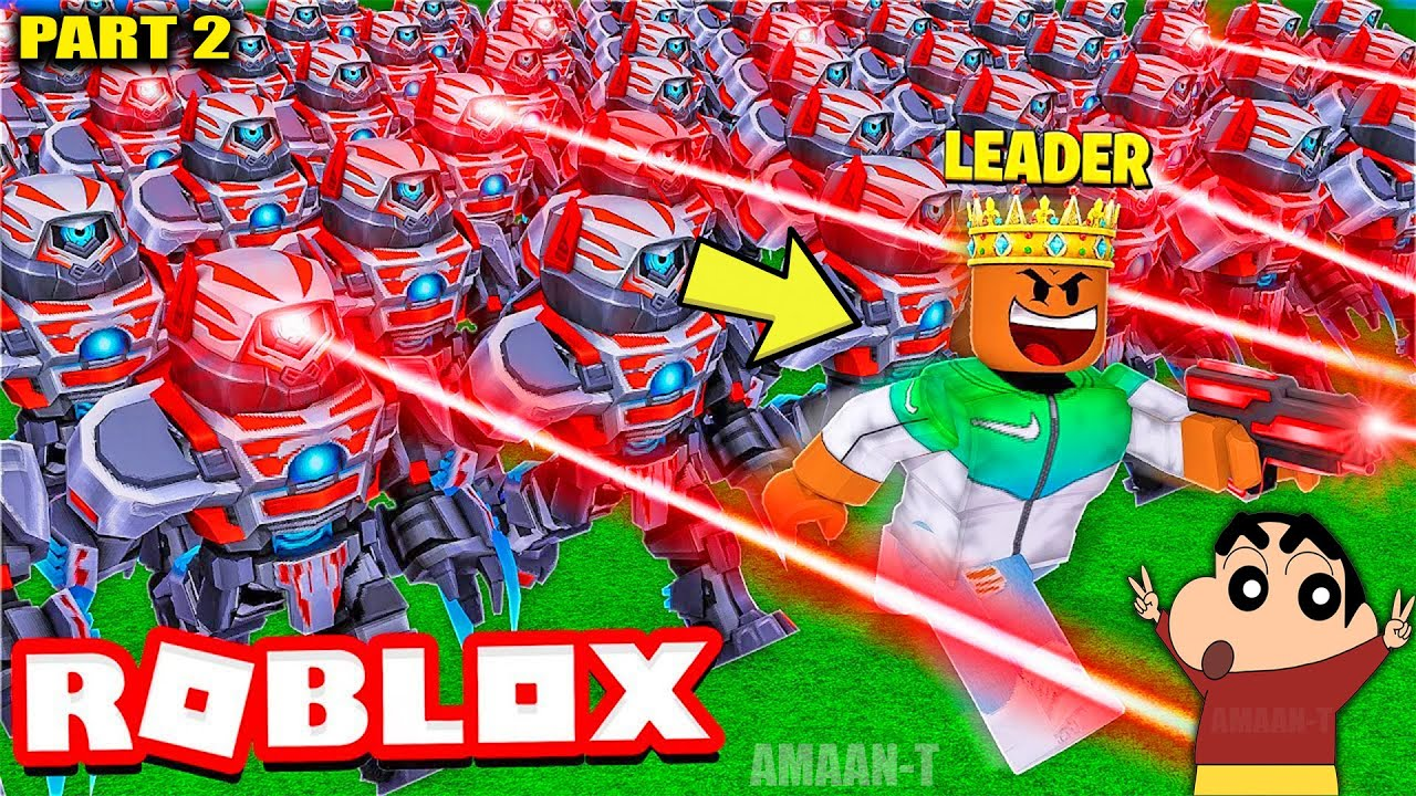 Download SHINCHAN and I became KING and built the BIGGEST ARMY in the WORLD!! PART 2 (Roblox)